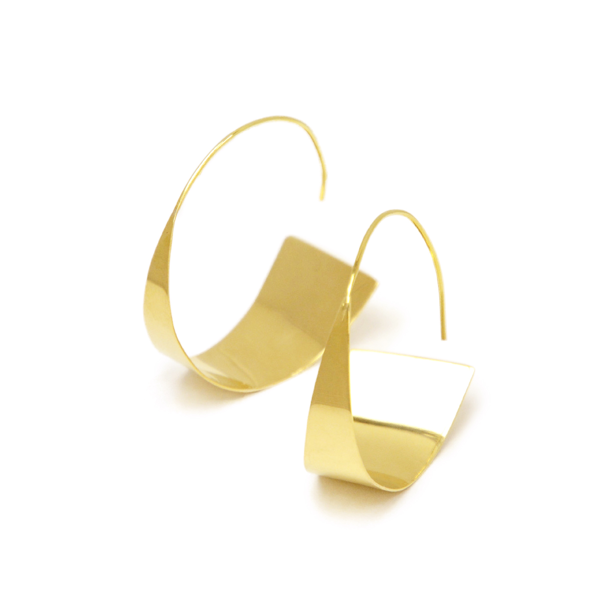 SOKO【ソコ】ピアス  ZURI THREADER EARRINGS JE173100 brass ゴールド