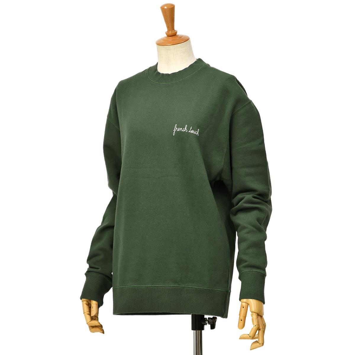 Maison Labiche【メゾン ラビッシュ】スウェット FRENCH TOUCH IMPERIAL GREEN コットン グリーン