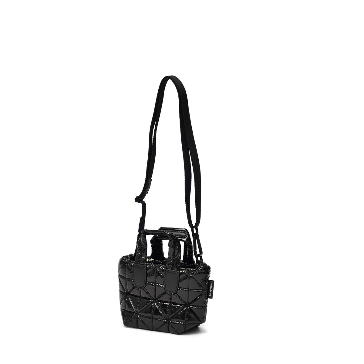 VeeCollective【ヴィーコレクティブ】トートバッグ VEE TOTE MICRO BLACK VINYL ナイロン ブラック