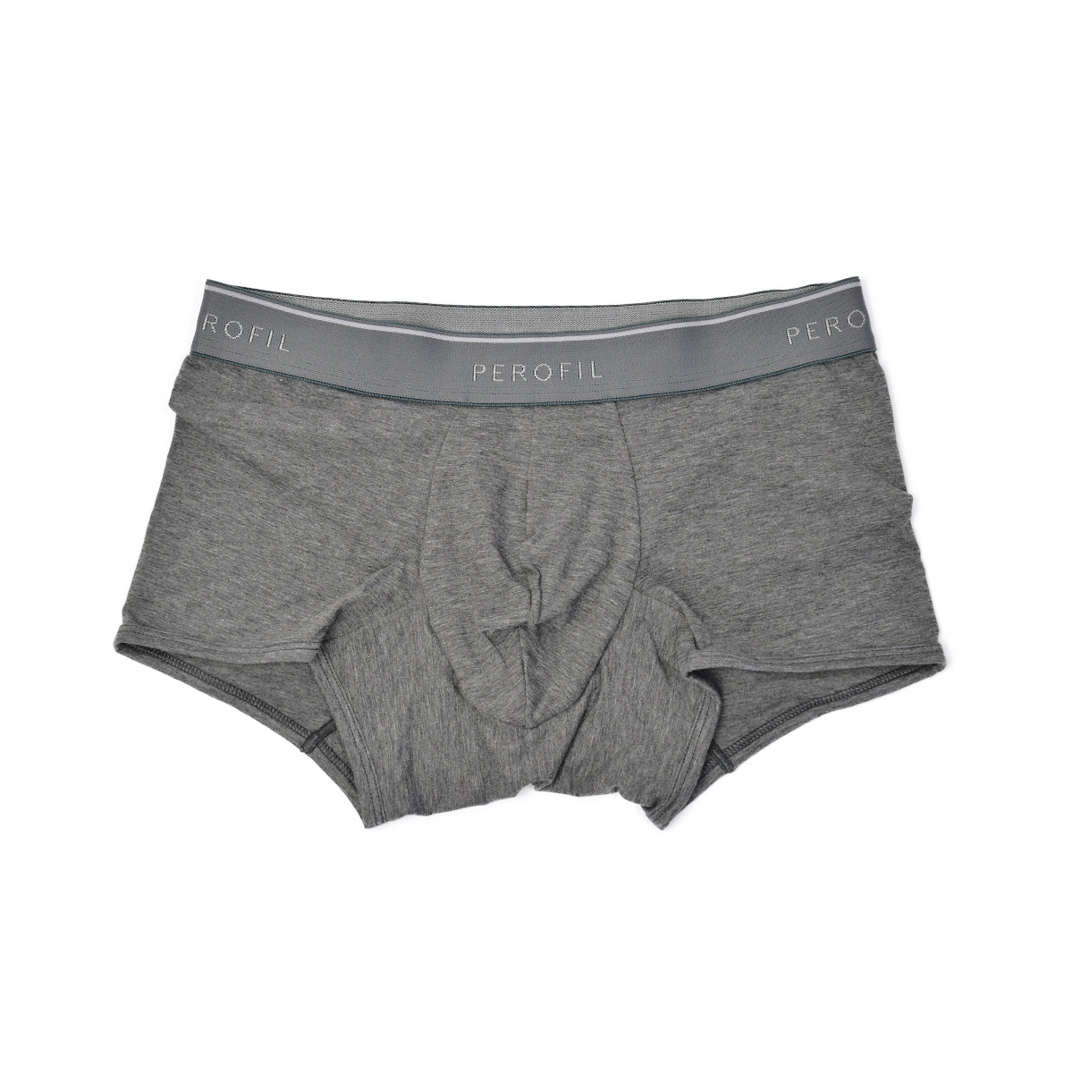 perofil【ペロフィル】アンダーウェア 下着 4SEASONS SHORT PUSH-UP BOXER TRUNK GRIGIO MELANGE SCURO グレー